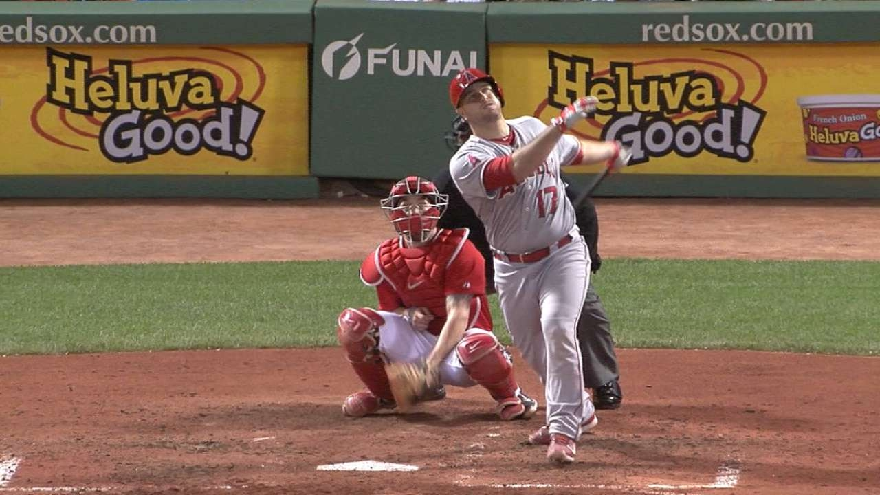 Angels' nine-run inning