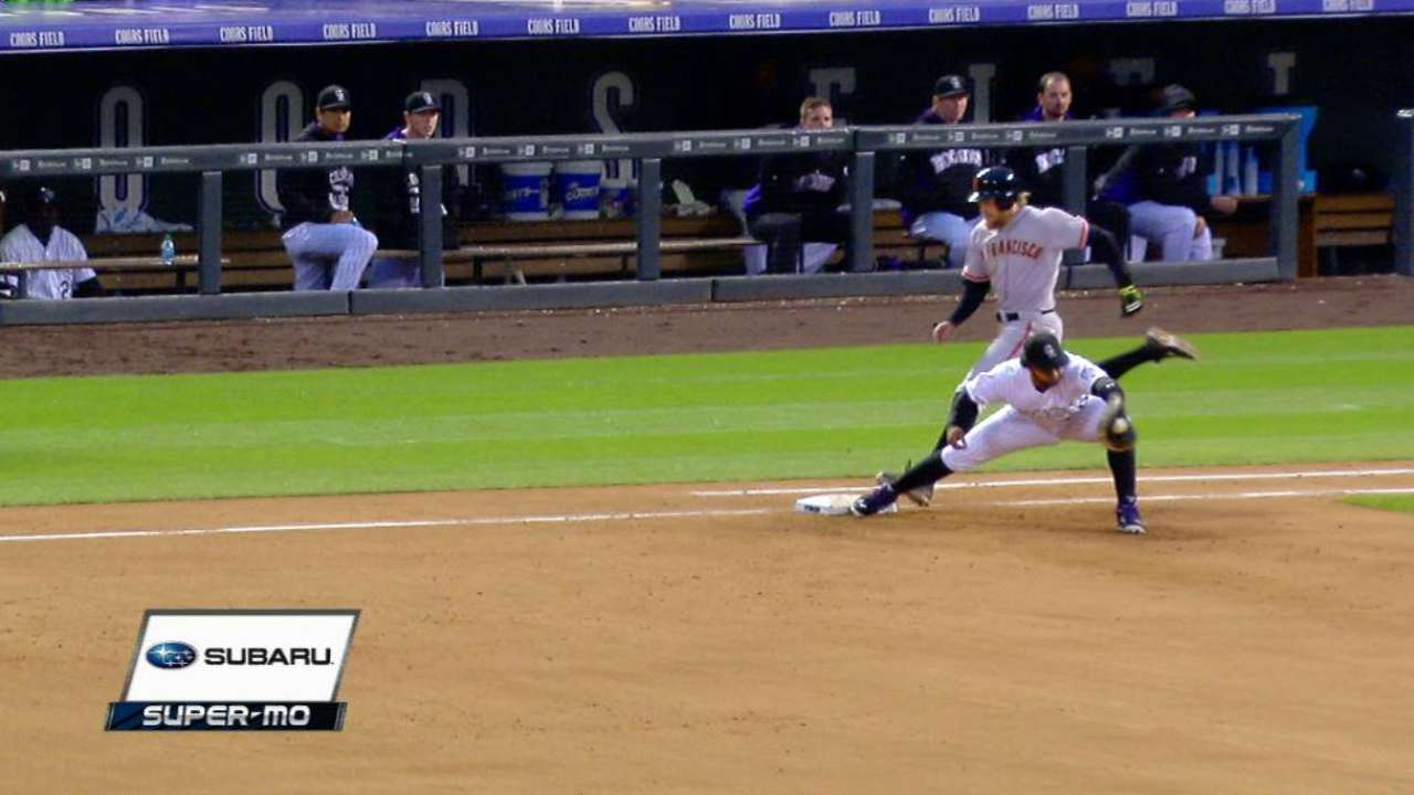 LeMahieu gets the out