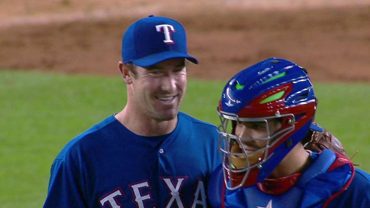 Ohlendorf relishes first career save