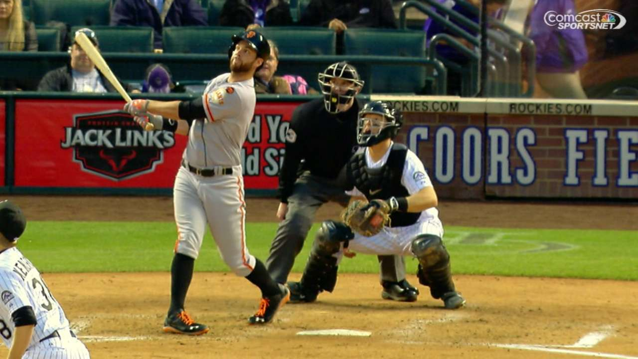 After Vogey's gem, Giants hang on vs. Rockies