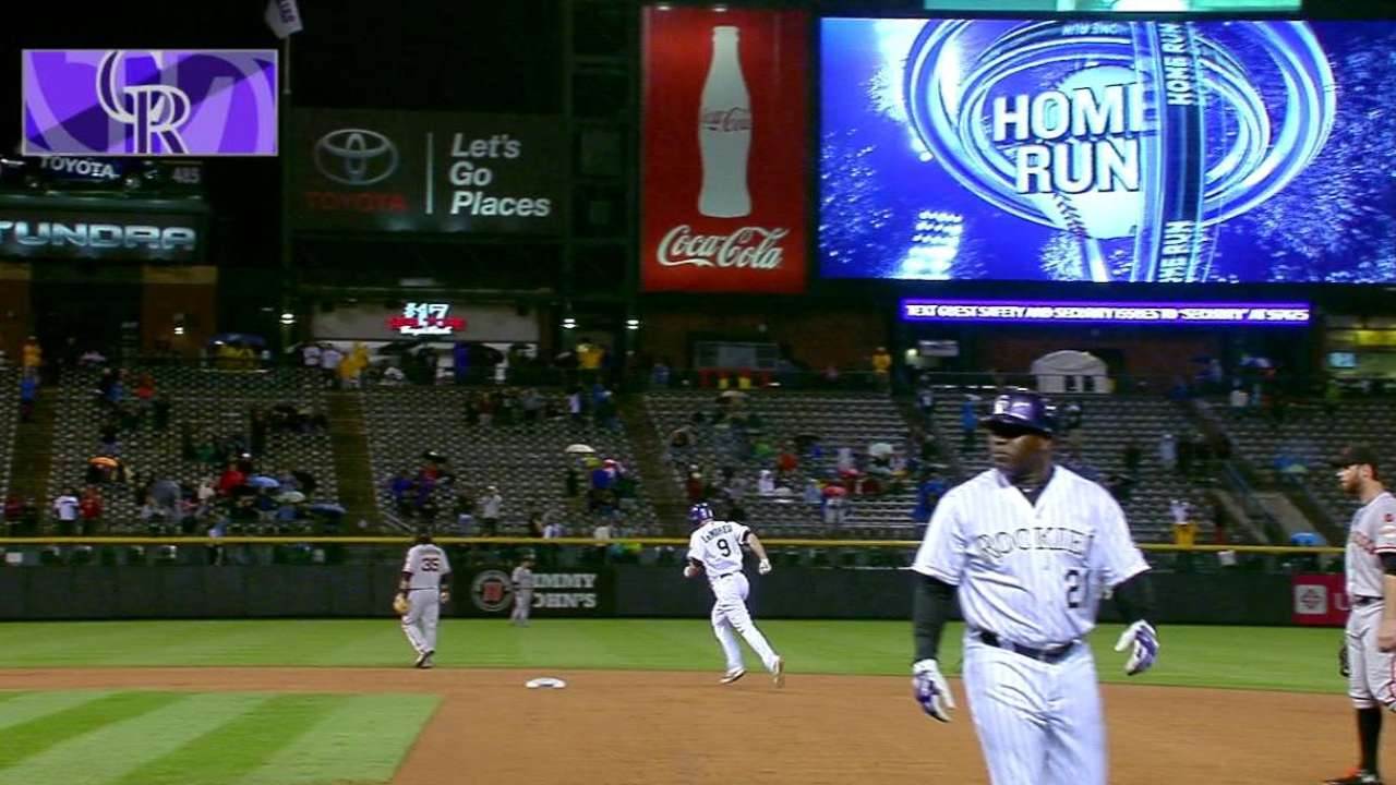 LeMahieu's three-run shot