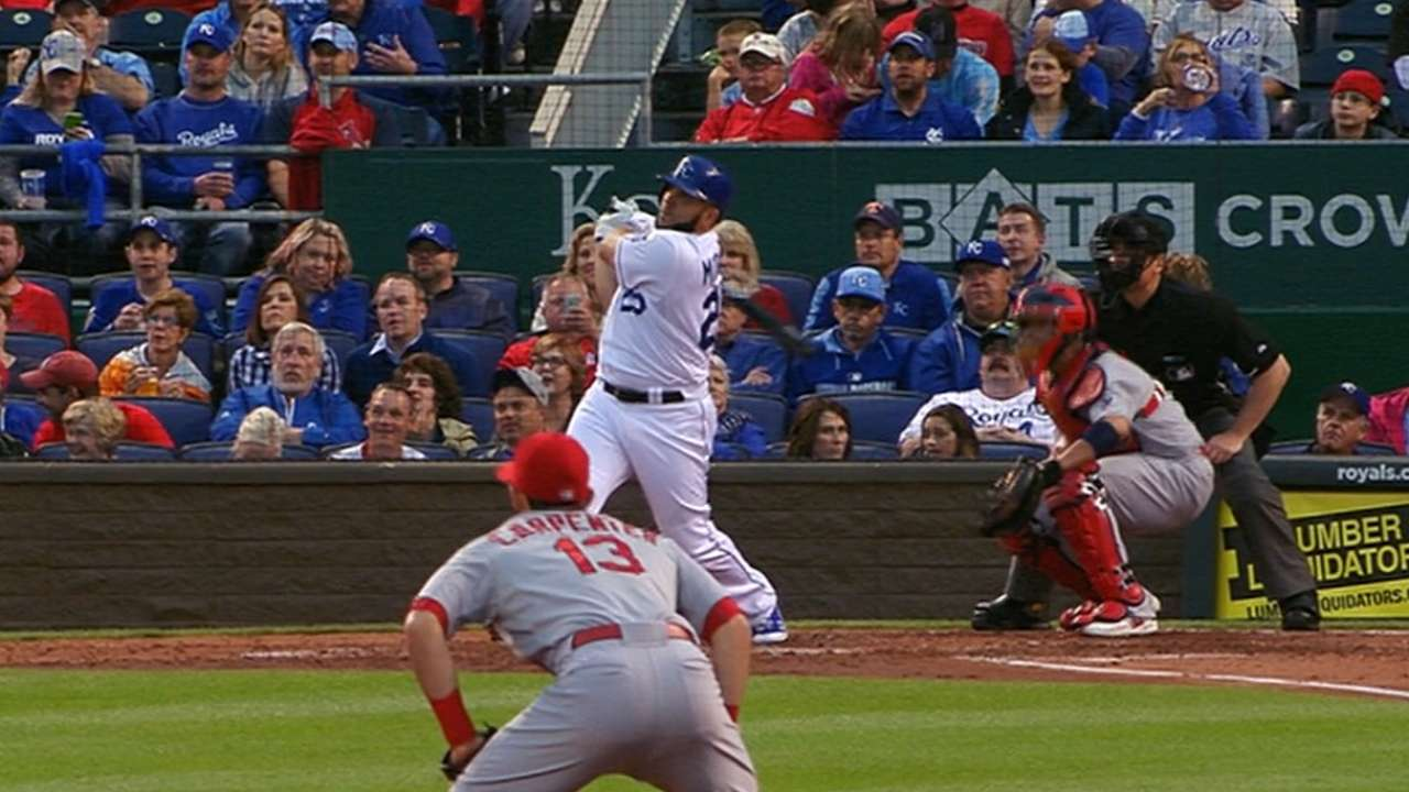 Kendrys' homers help deck Cardinals in I-70 clash