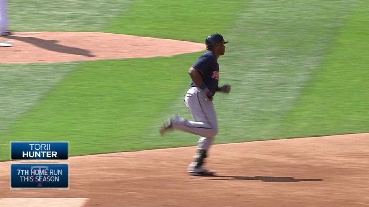 Twins ride May, HRs past White Sox