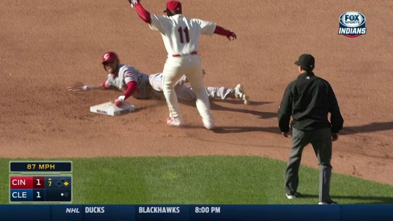 Perez catches Hamilton stealing