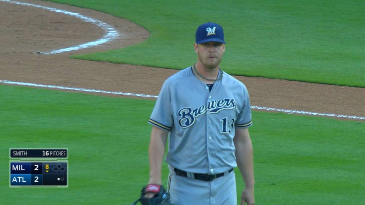 Relievers step up for Crew until fateful 11th