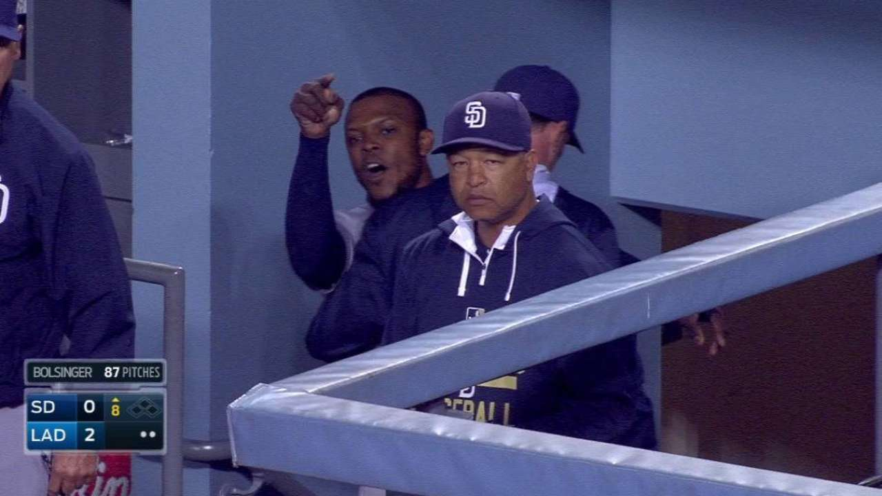 Upton gets ejected