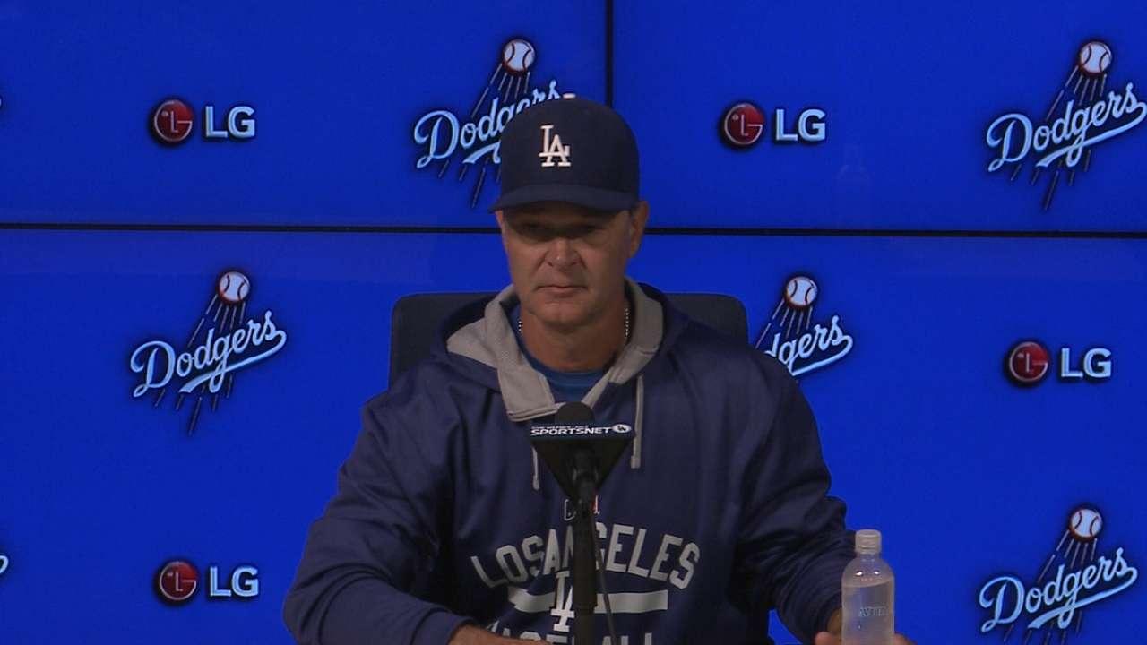 Mattingly on Dodgers' peformance
