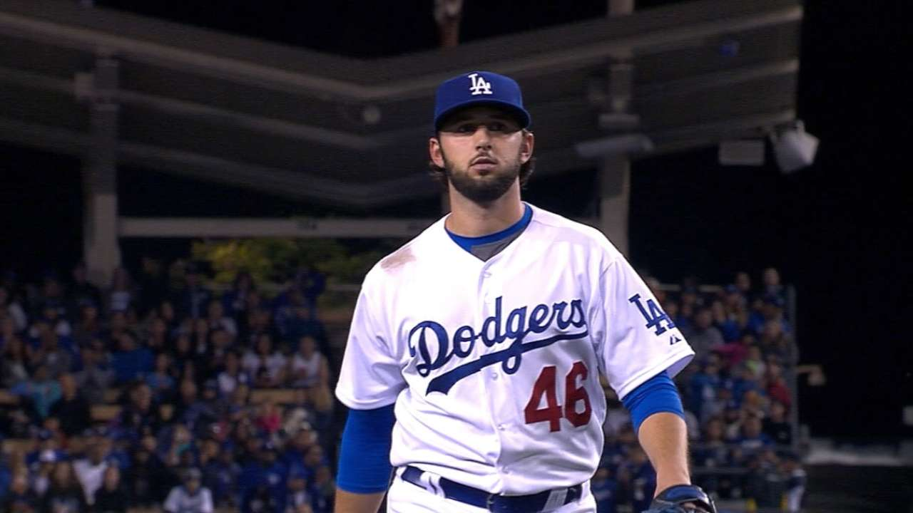 Dodgers pitching faces the minimum in shutout against Padres