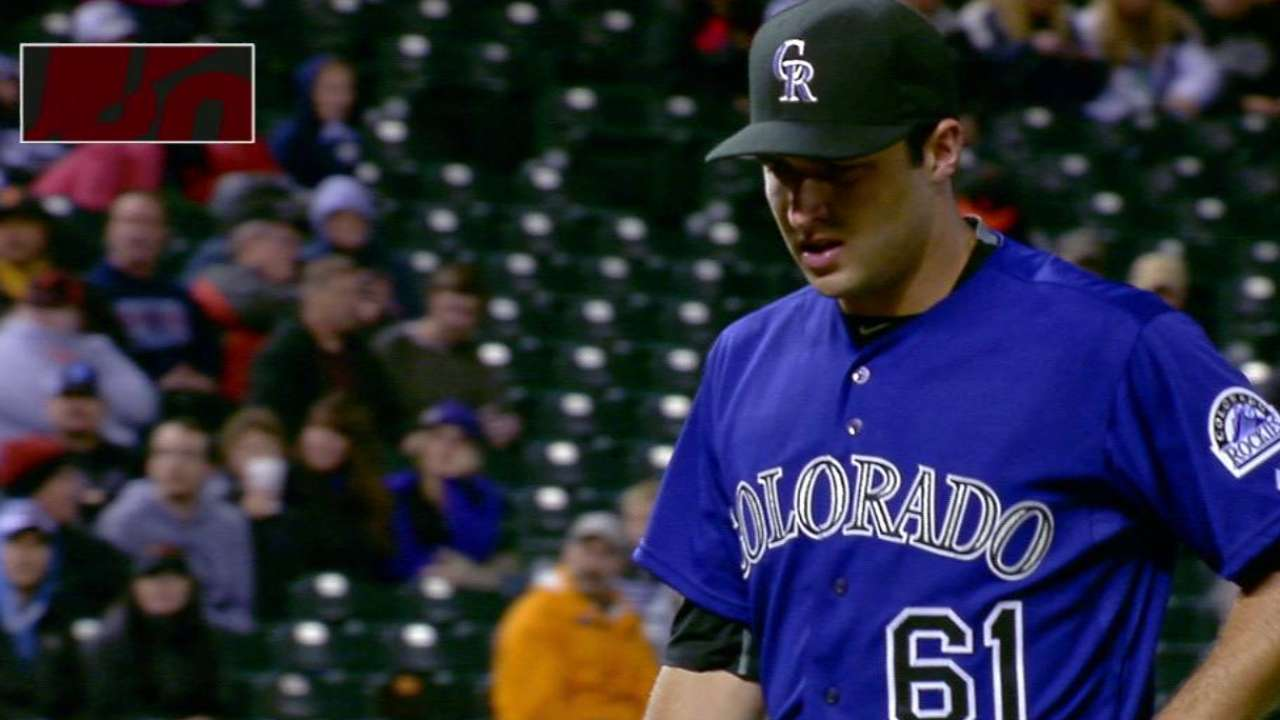 Rockies to make Hale 26th man for twin bill