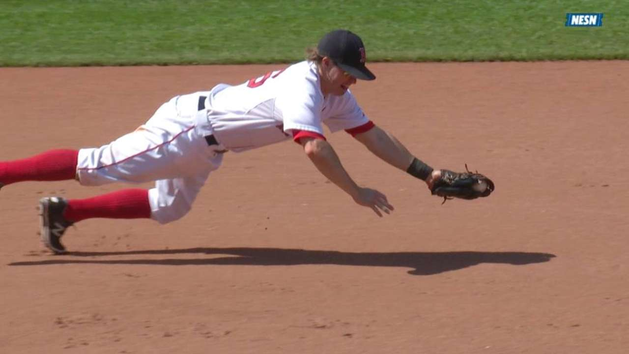 Holt's diving stop