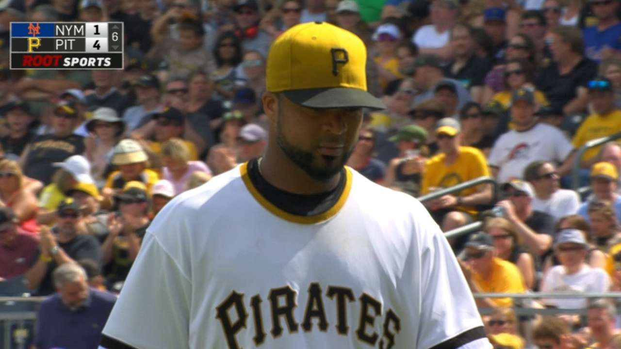 Liriano strikes out 12