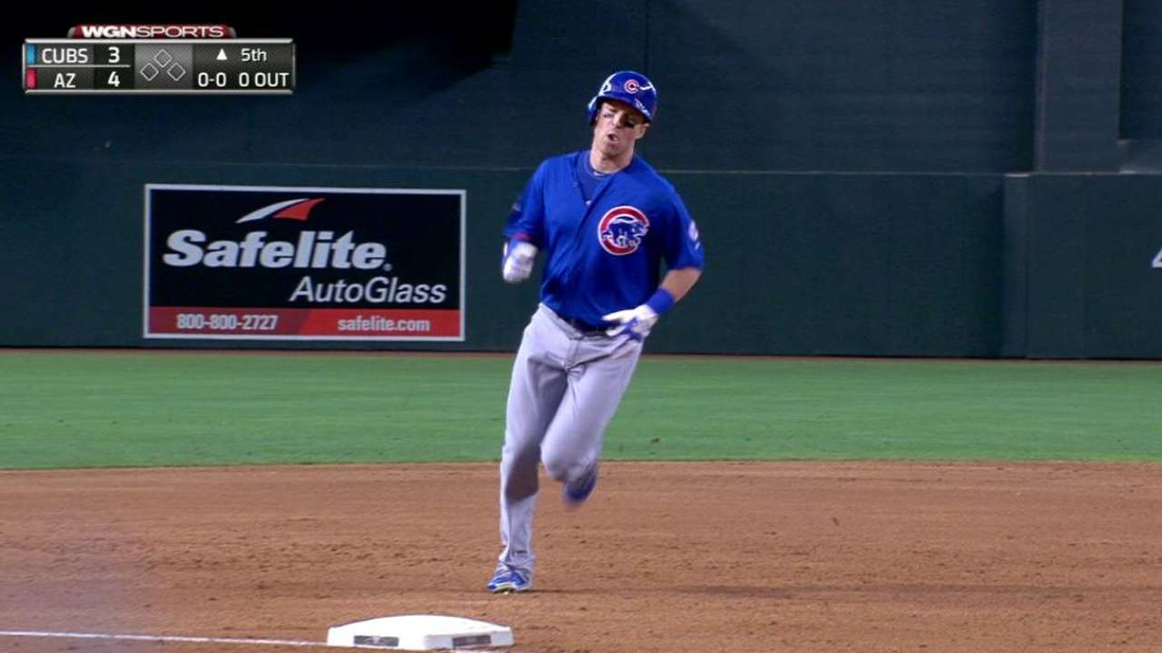 Montero, Coghlan homer in loss to D-backs