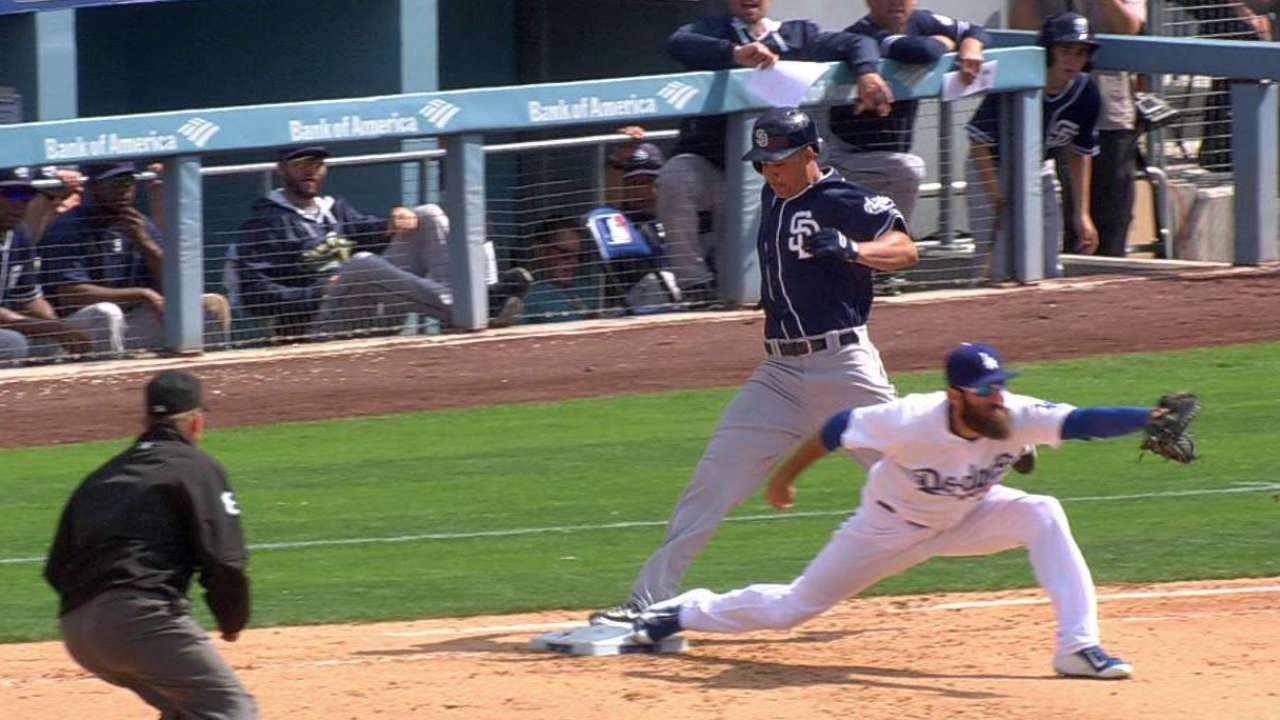 Venable collects infield single