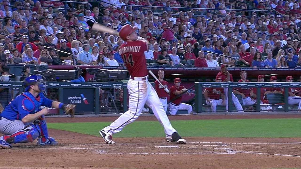 Goldy's three RBIs lead D-backs over Cubs