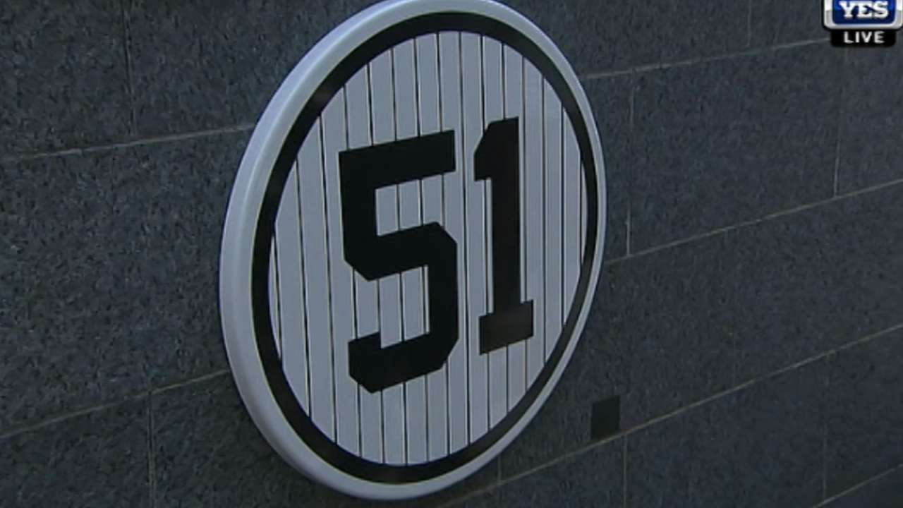 A retired numbers game for Yankees