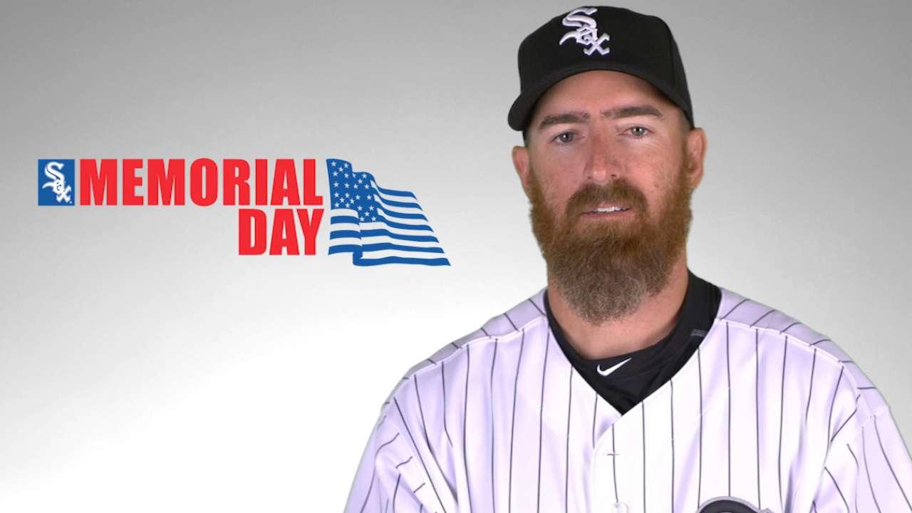Adam LaRoche on Memorial Day