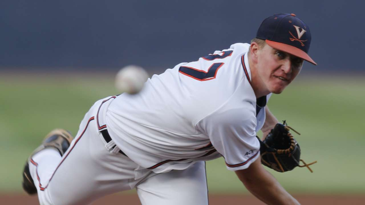 Hard-throwing Sborz goes 74th to Dodgers