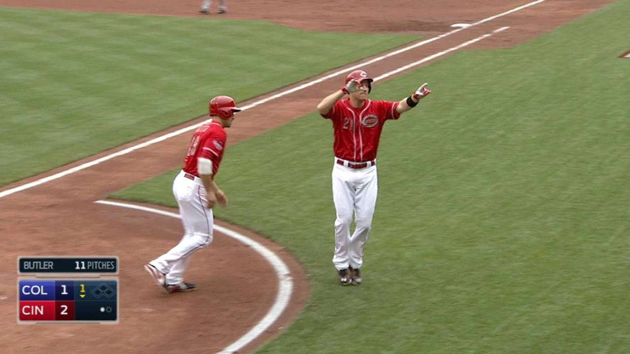 Frazier's two-run homer