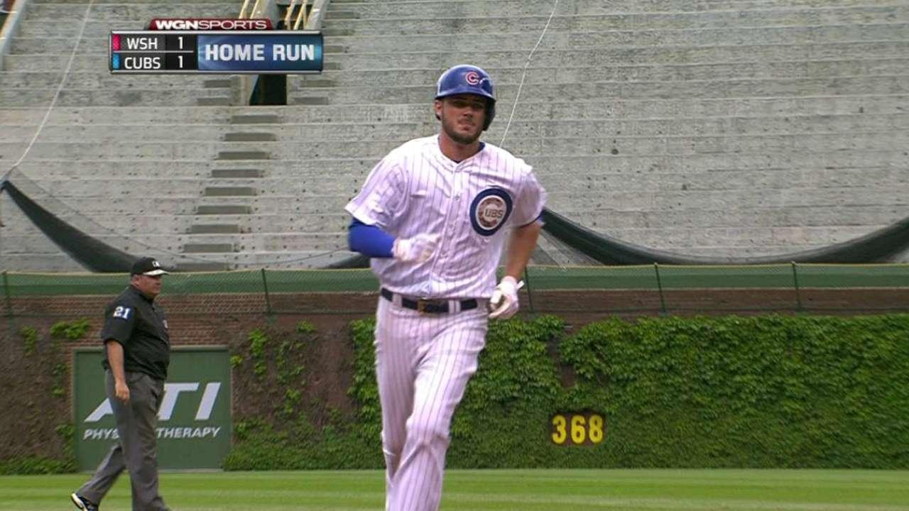 Bryant's solo homer