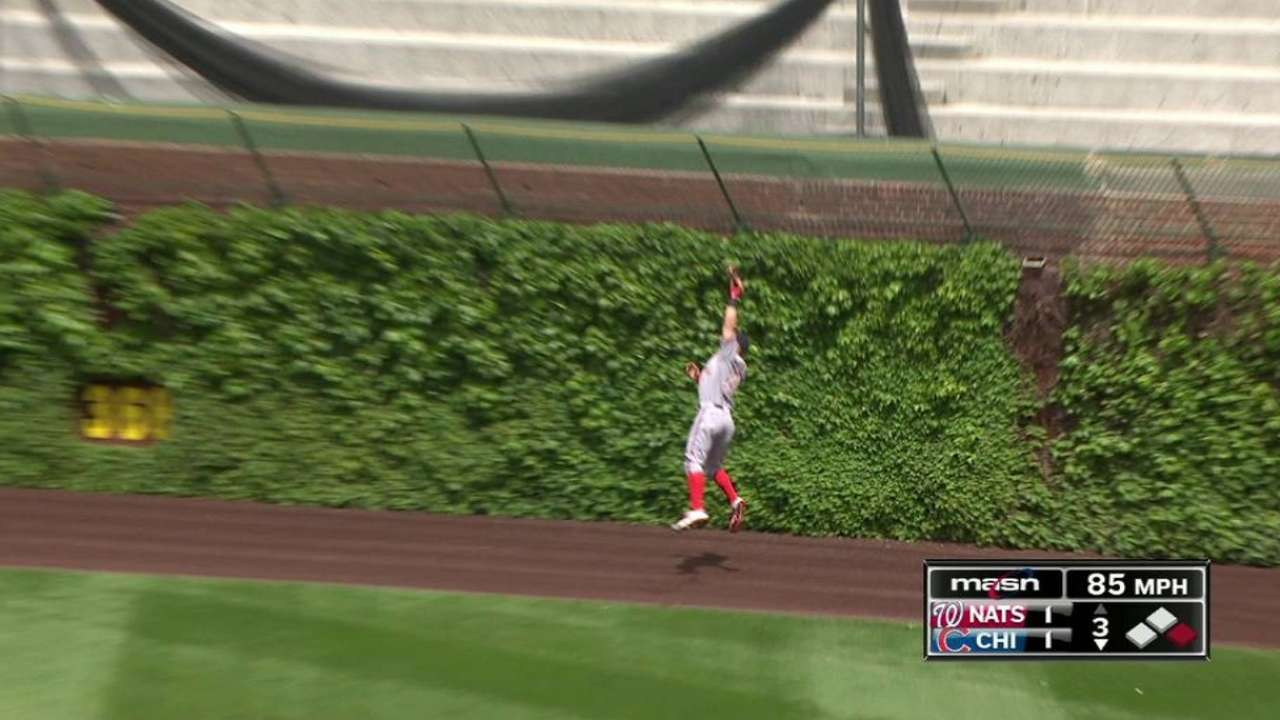 Harper's leaping catch