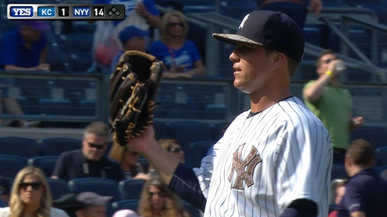 Lindgren's big league debut