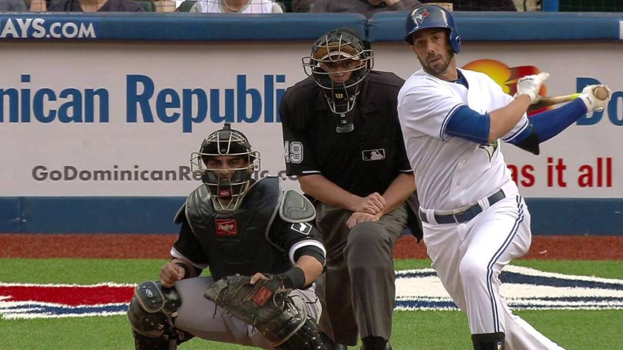 Reyes sparks Blue Jays' shutout of White Sox