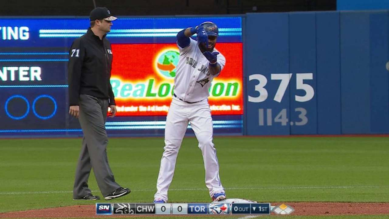 Reyes activated from DL, makes presence felt