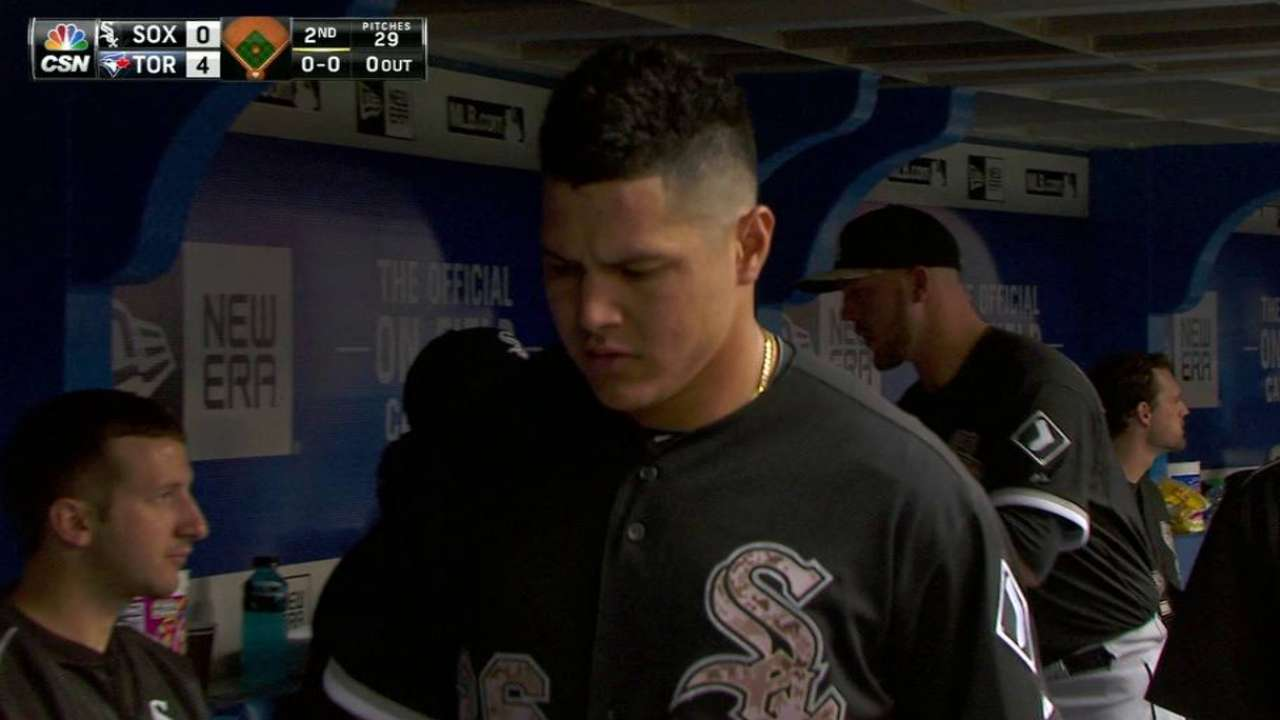 Avisail day to day with knee inflammation