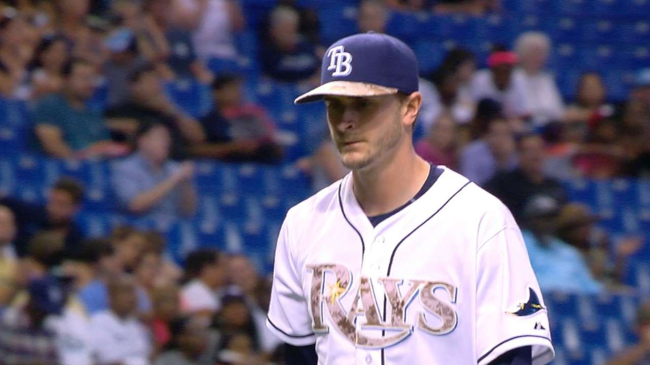 No offense means no win for solid Odorizzi