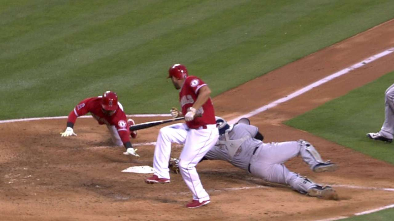 Aybar scores after challenge