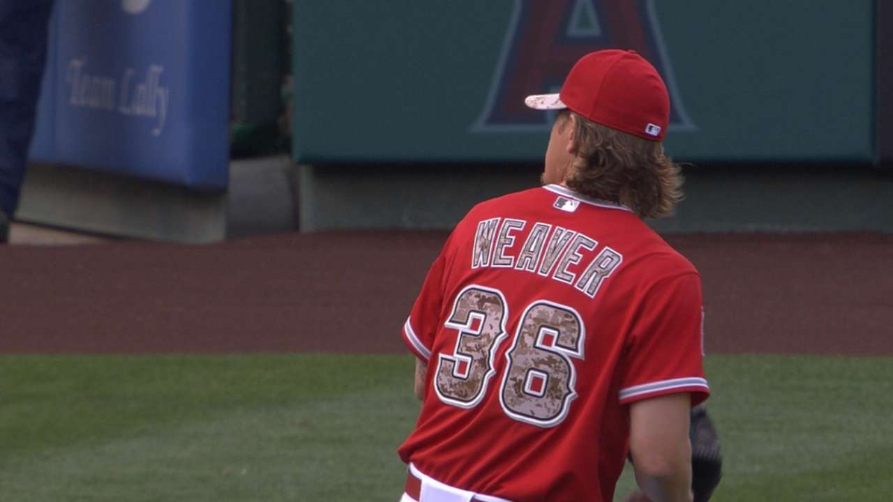Weaver eyes more consistency before return