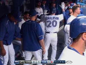 CWS@TOR: Donaldson crushes a solo shot for early lead