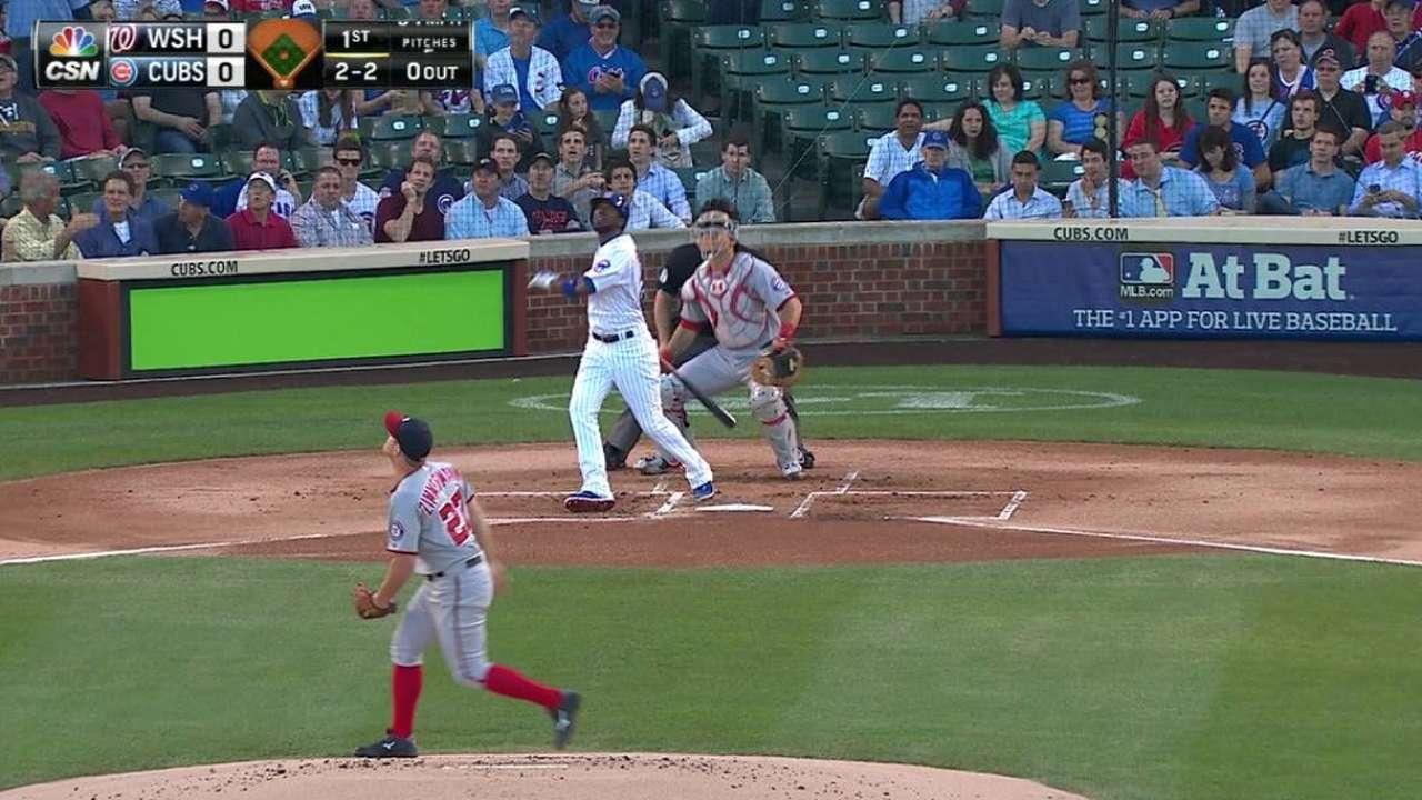 Fowler's solo homer