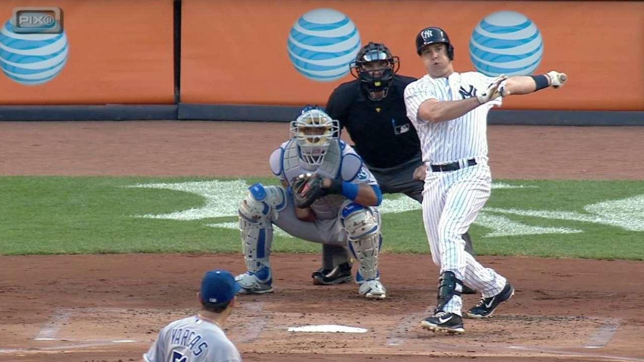 Teixeira's HR helps Yankees power past Royals