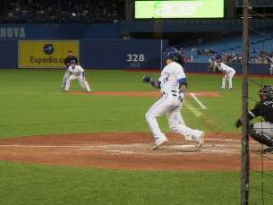 CWS@TOR: Bautista hits another two-run double