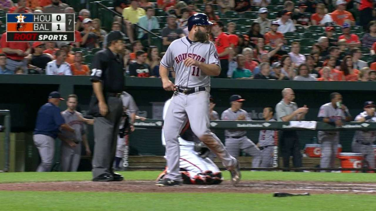 Astros first in AL to 30 wins after beating O's
