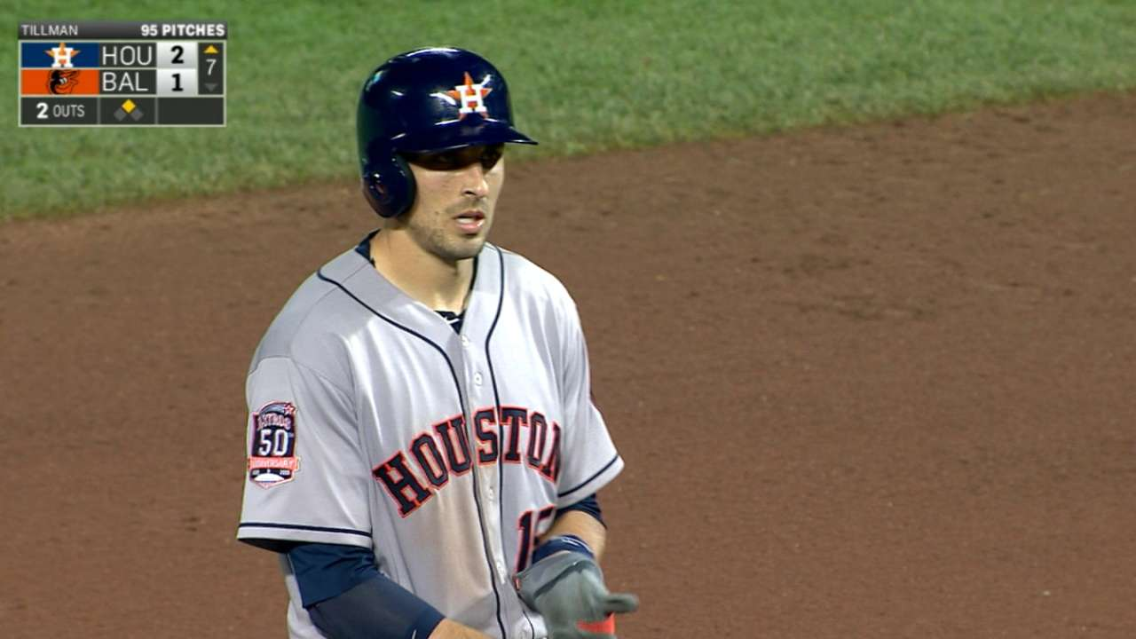 Late innings bring out best in Astros' offense