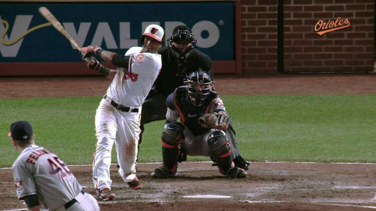 Paredes' 6th-inning double