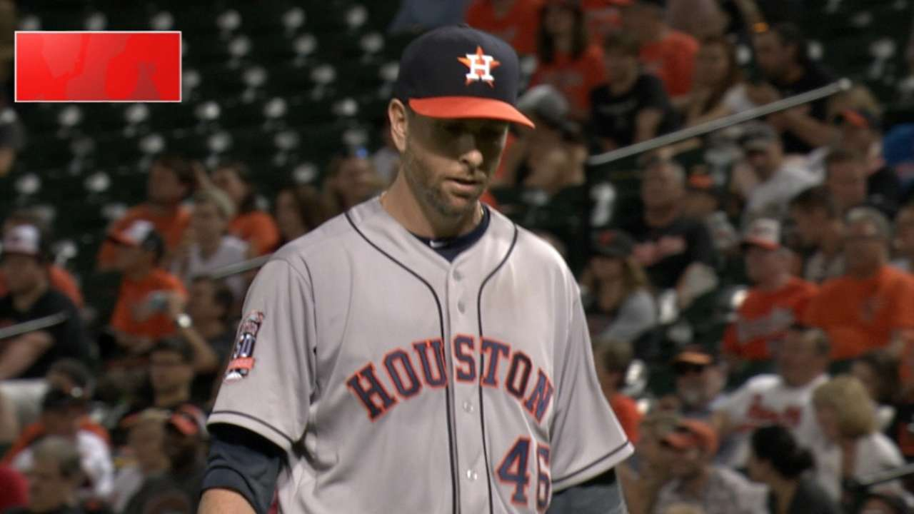 Astros expect Feldman to be out 6 weeks