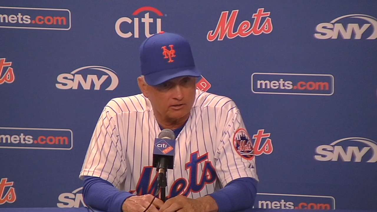 Collins on the Mets' win, Flores