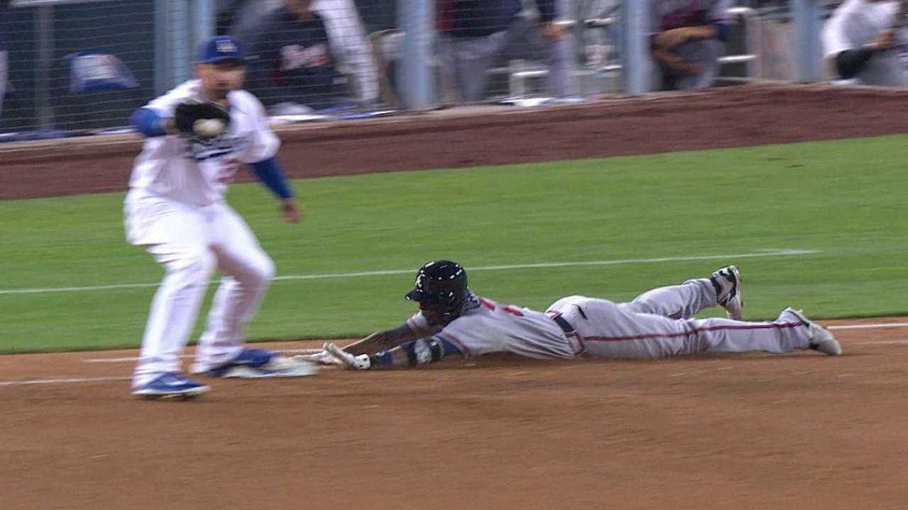 Kendrick's diving stop