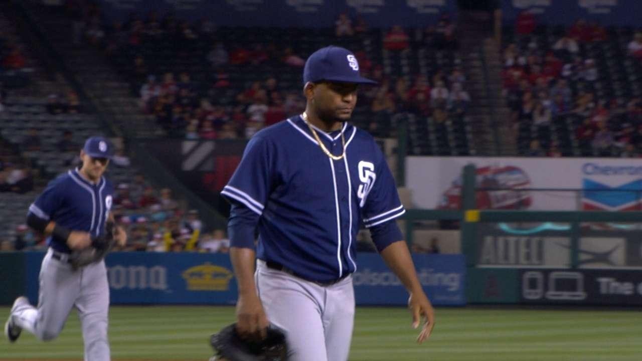 Kemp's 2B, Venable's catch lead Padres past Angels