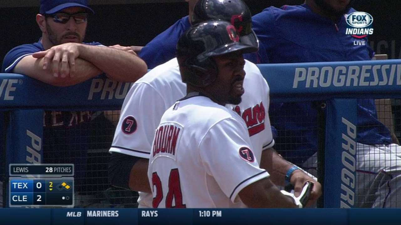 Bourn's RBI single