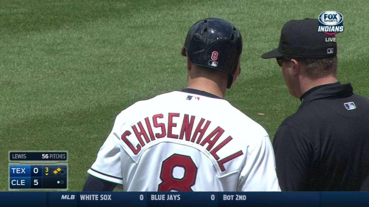 Chisenhall's two-run double