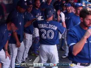 CWS@TOR: Donaldson drives in Pillar on a sac fly