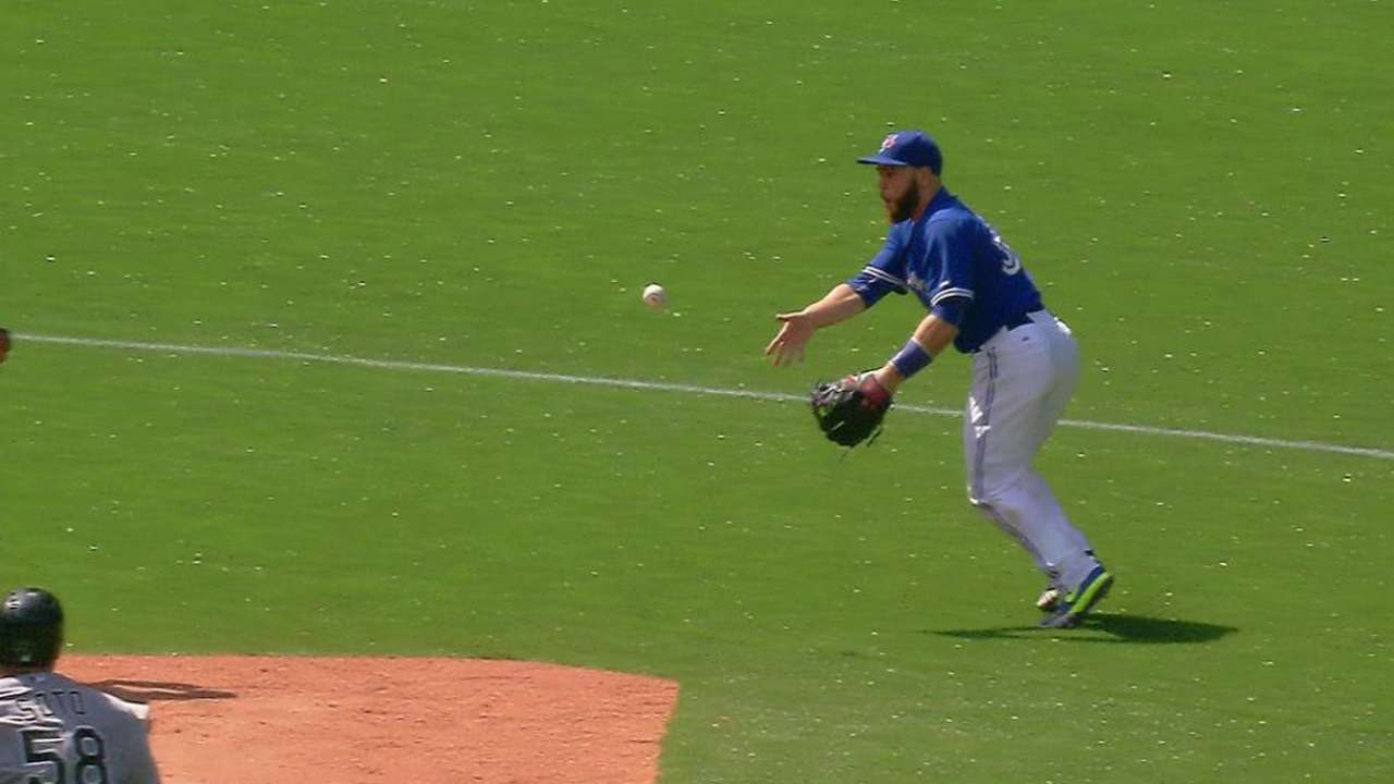 Martin looks like a natural at second