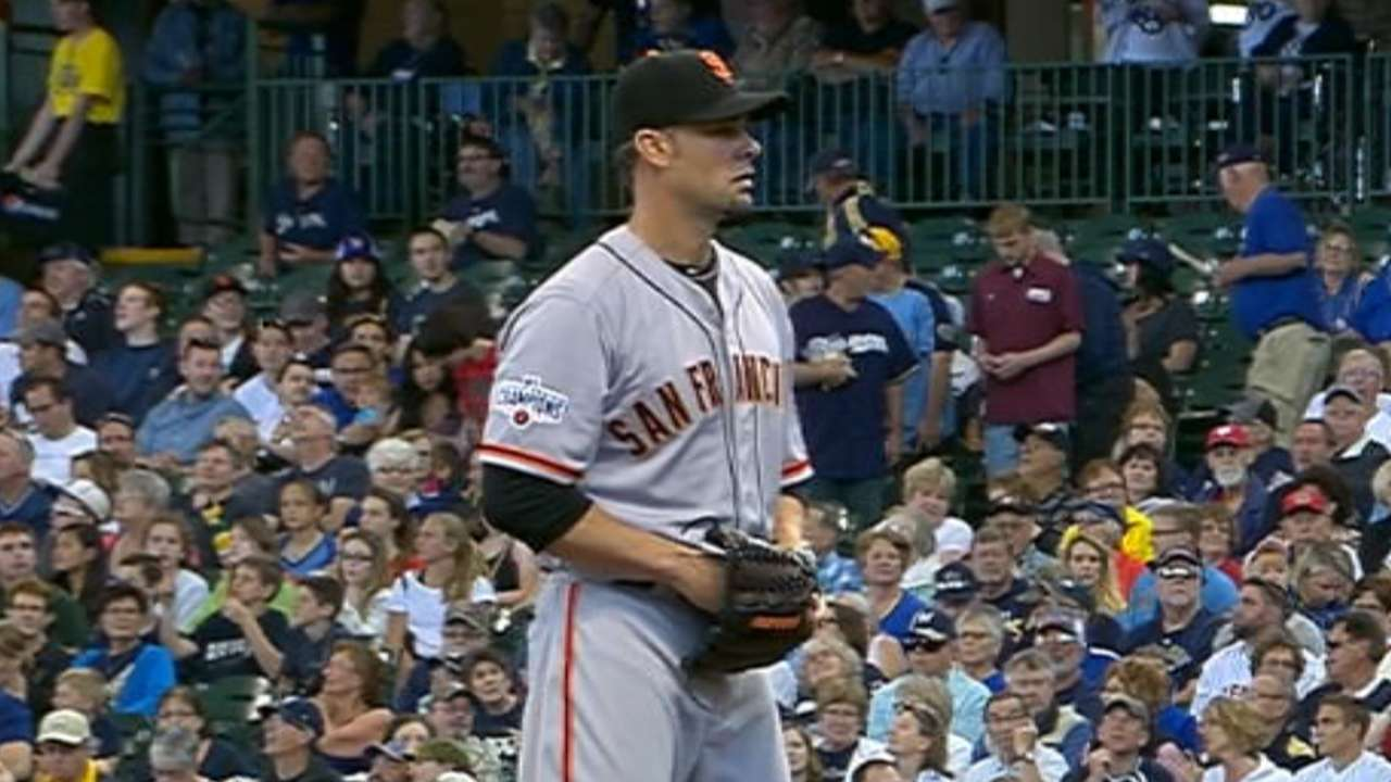 Vogelsong's one-run start
