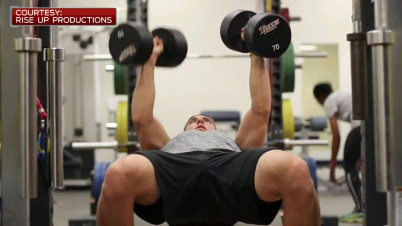 Lorenzen's intense workouts