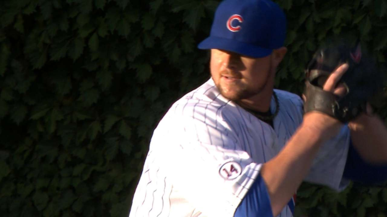 Lester's 10 K's go unsupported by Cubs