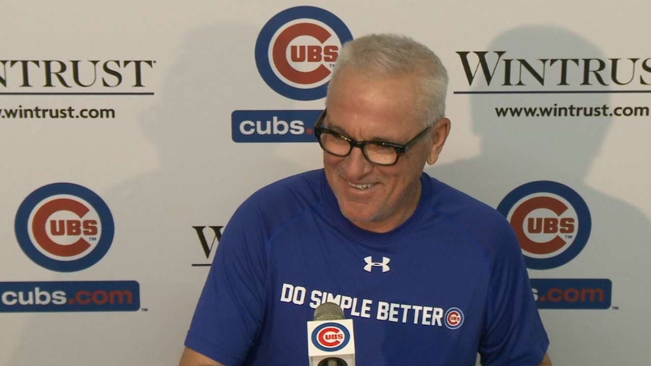 Maddon says youth behind Cubs' errors
